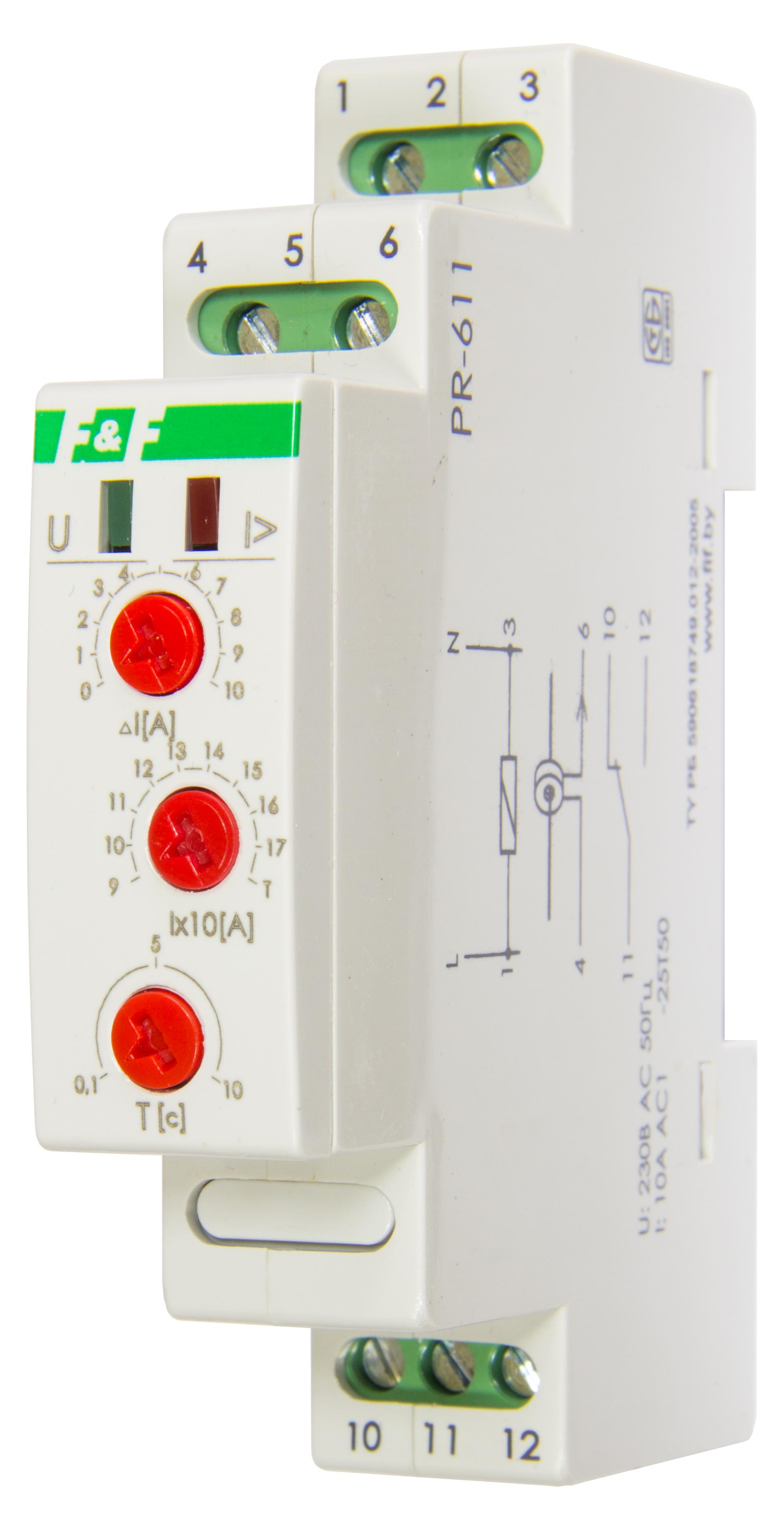 Реле тока для систем автоматики PR-611-02